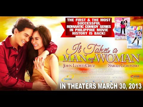 It Takes A Man And A Woman [Eng Sub] Movie Trailer 2013 - Sarah Geronimo & John Lloyd Cruz