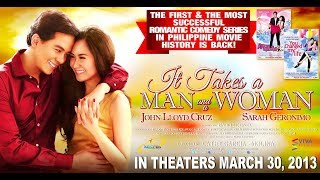 It Takes A Man And A Woman [Eng Sub] Movie Trailer 2013 - Sarah Geronimo & John Lloyd Cruz