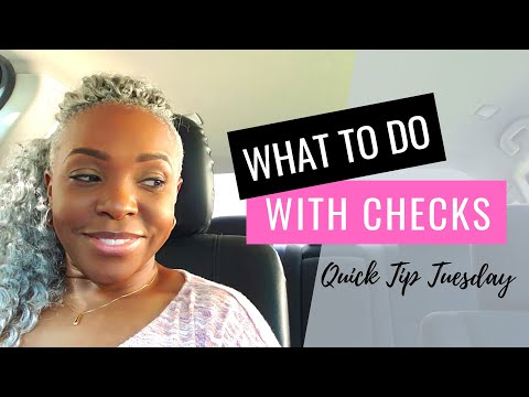 What To Do With Checks As A Signing Agent