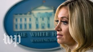 McEnany clashes with reporters over Trump's Confederate flag tweet