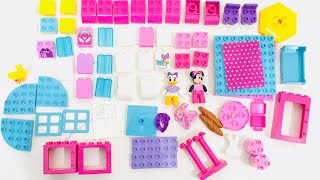 Lego Duplo Minnie Mouse Toys Minnie's Boutique Daisy Duck Mickey Unzip and ASSY.
