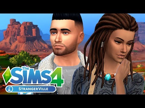 Stangerville CAS 🌵 \ First Impressions || The Sims 4