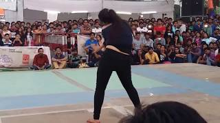 sexy collage girl dance 2017
