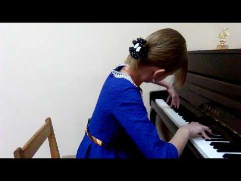"""В. Купревич - """"Прелюдия G Moll"""" - исп. Аманатова Екатерина 11 лет"""