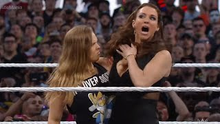 Stephanie McMahon tangles with Ronda Rousey: WrestleMania 31