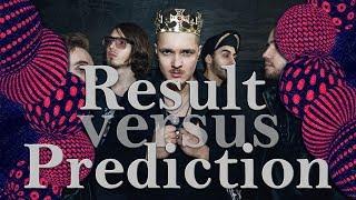 Eurovision 2017: Results vs Prediction