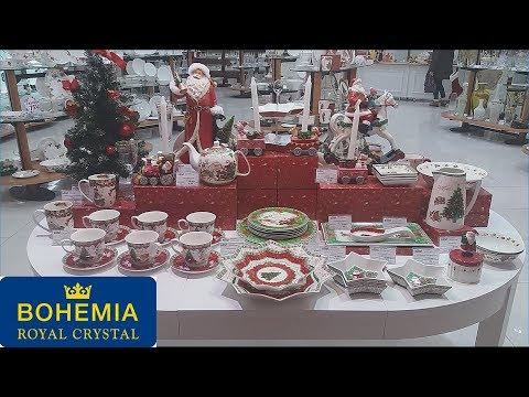 ❄️Шикарная  ПОСУДА БОГЕМИЯ BOHEMIA Новый год 2019 🎄 Это не АШАН, ФИКС ПРАЙС, ЛЕРУА, ЛЕНТА