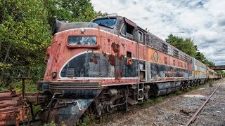 Exploring Old Decaying Trains - Locomotives - Coaches