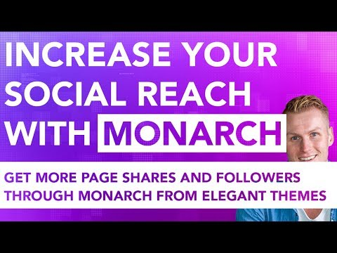 Increase Your Social Reach With Monarch | Wordpress Plugin thumbnail