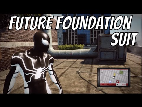 The Amazing Spider-Man - Future Foundation Suit Gameplay