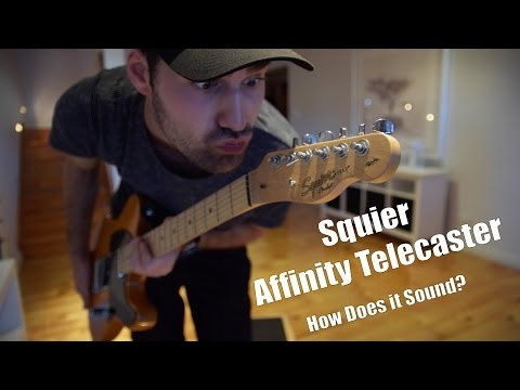 Squier Affinity Telecaster | How Does It Sound?
