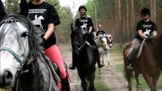 """I rajd konny w Stajni Brody """"Konie i las"""""""