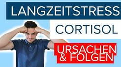 Chronischer Stress  - Was das Langzeit-Stress-Hormon Cortisol mit uns macht! (1/3)