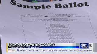 School tax vote in Fairhope and Spanish Fort