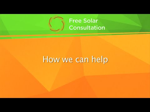 Free Solar Consultation - How We Can Help