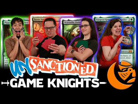 Silver-Bordered Madness! Unsanctioned Commander L Game Knights #34 L Magic The Gathering Gameplay
