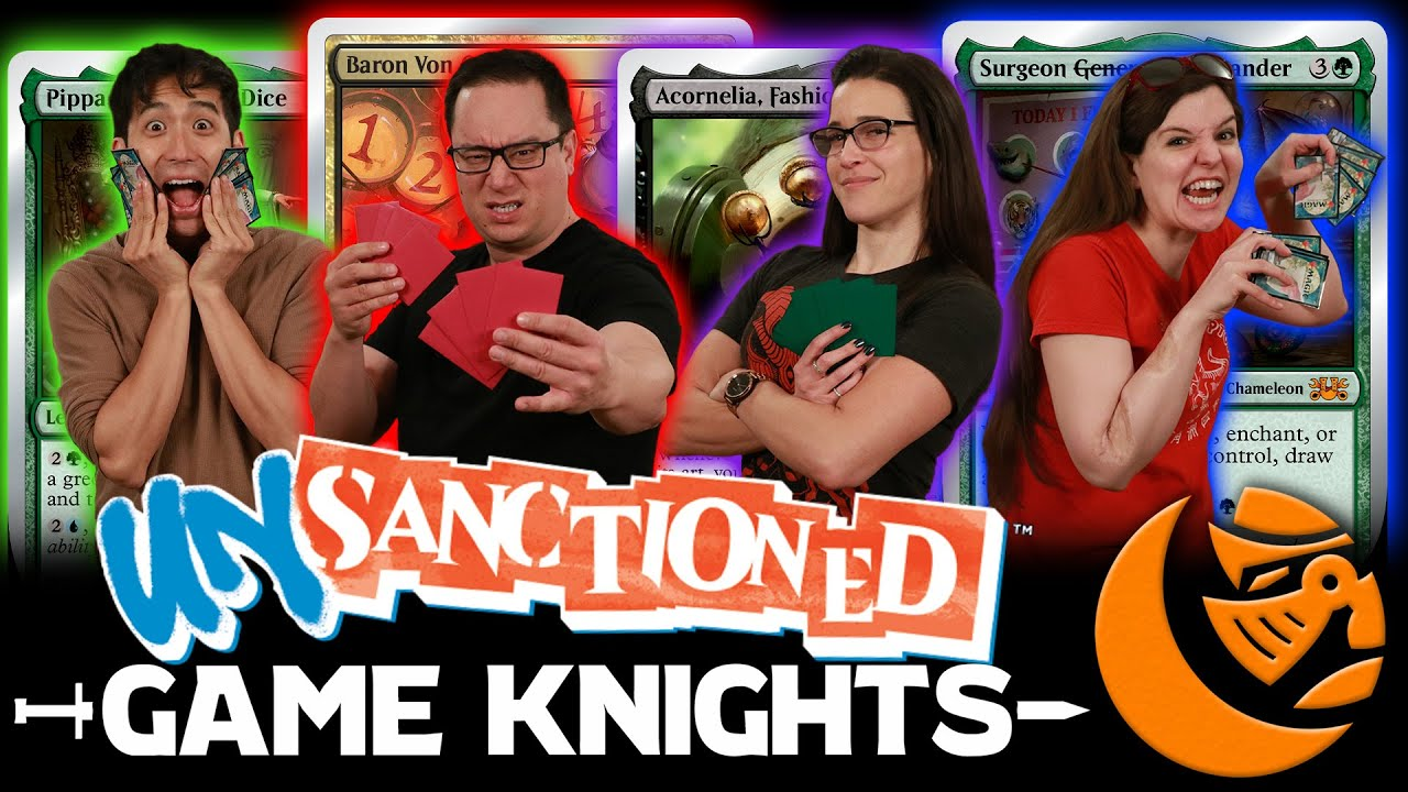 Download Silver-Bordered Madness! Unsanctioned Commander l Game Knights #34 l Magic the Gathering Gameplay