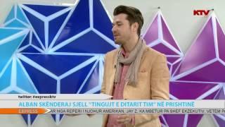 """ALBAN SKENDERAJ SJELL """"TINGUJT E DITARIT TIM"""" NË PRISHTINË, 24 06 2015"""