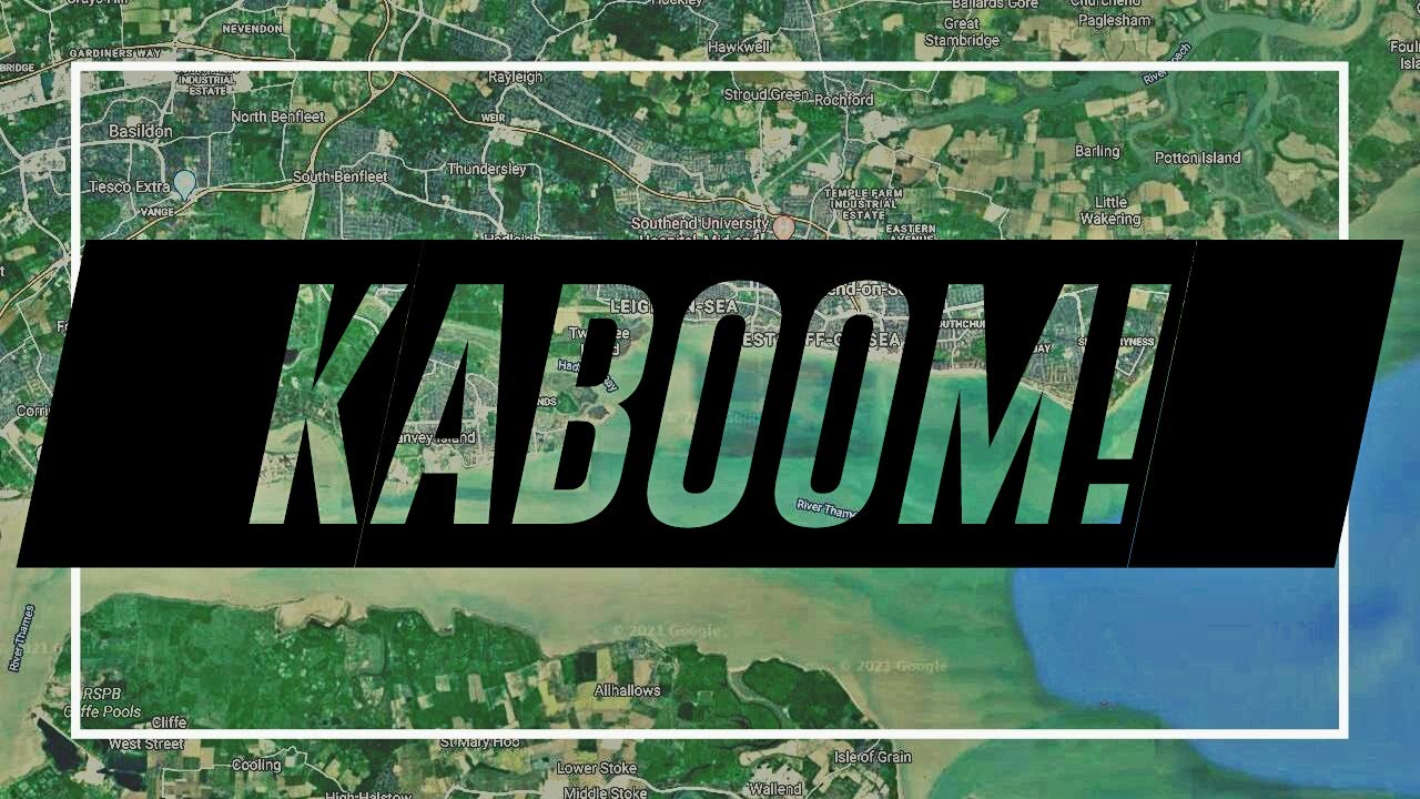 Kaboom! I just discovered my hometown could explode at any moment