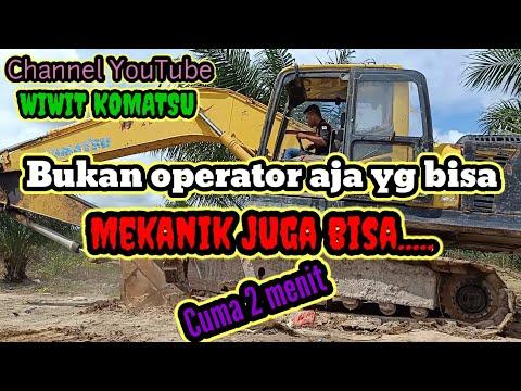 cara-buka-trek-pada-#excavator