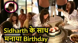 Shehnaaz rings in her birthday with Sidharth shukla who pushes her in pool after bday bombs