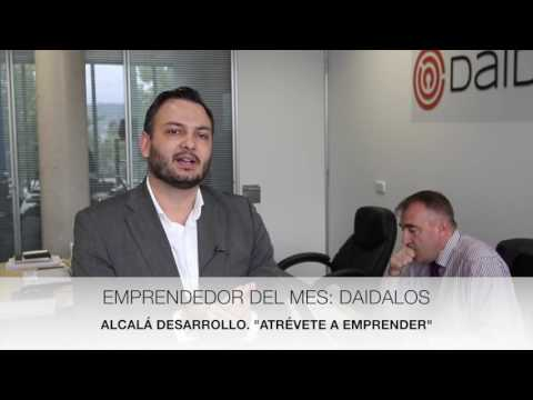 Daidalos Techne Emprendedor del mes, noviembre 2016