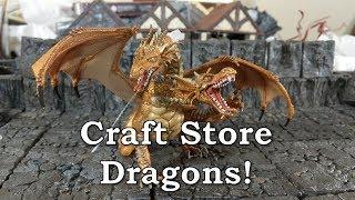 Craft Store Dragons
