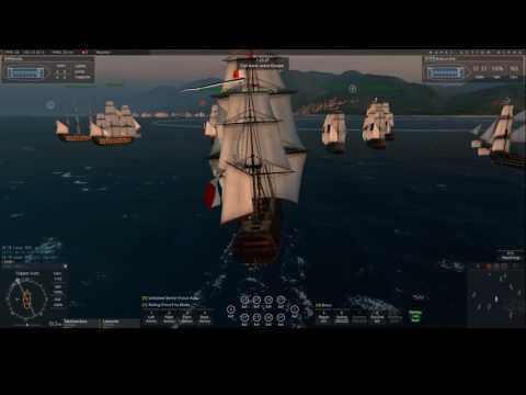 Naval Action Portbattle at Caracas French+Swedes vs Dutch