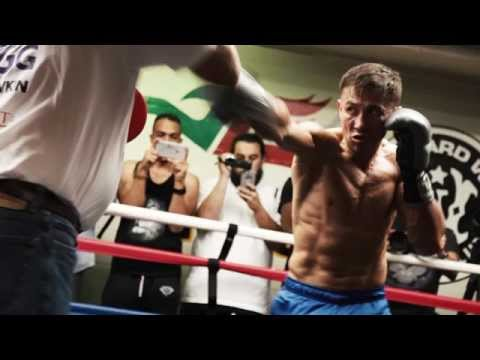 Gennady GGG Golovkin vs. Willie Monroe Jr, media workout, Los Angeles, USA
