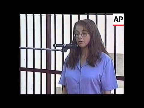Peru: Berenson: Lori Berenson questioned on her involvement in terrorism