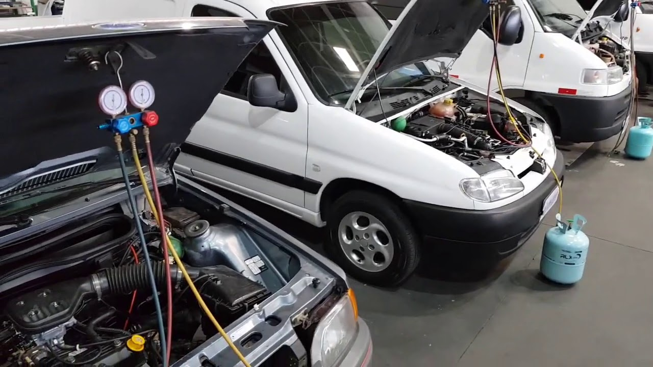 2º Turma de Outubro 2020 do curso de ar condicionado automotivo