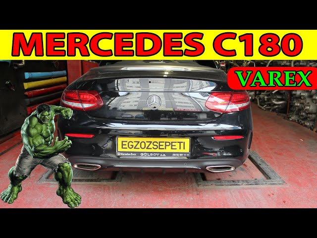 MERCEDES C180 COUPE KUMANDALI VAREX EGZOZ SESİ