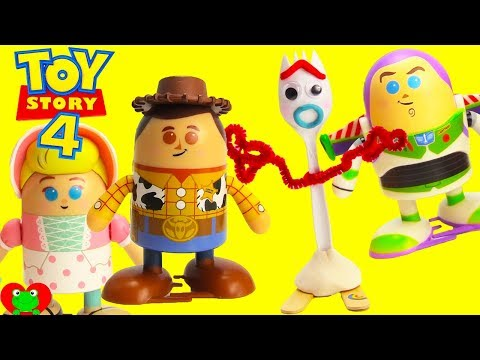 Shuffle With Toy Story 4 Forky and Shufflerz