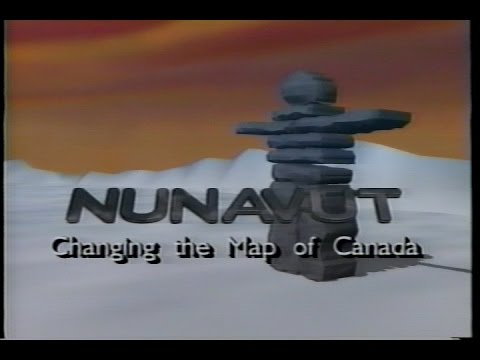 Nunavut - Changing The Map Of Canada (1992) (VHS)