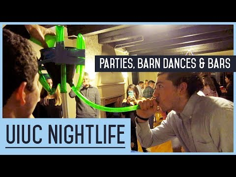 UIUC - College Nightlife, House Party, Barn Dance, Bars - GAF Show