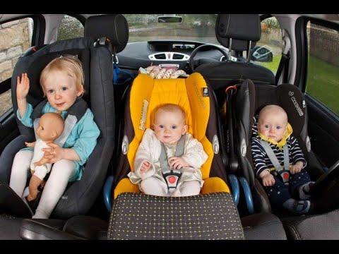 Перевозим детей в салоне авто правильно!
