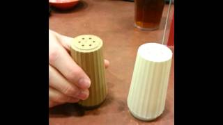 Salt & Pepper Shaker Review @ Isu Dining Center