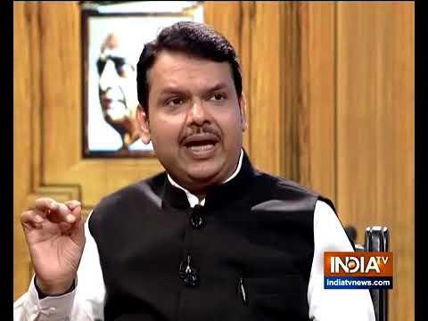 Maharashtra CM Devendra Fadnavis In Aap Ki Adalat (Election 2019)