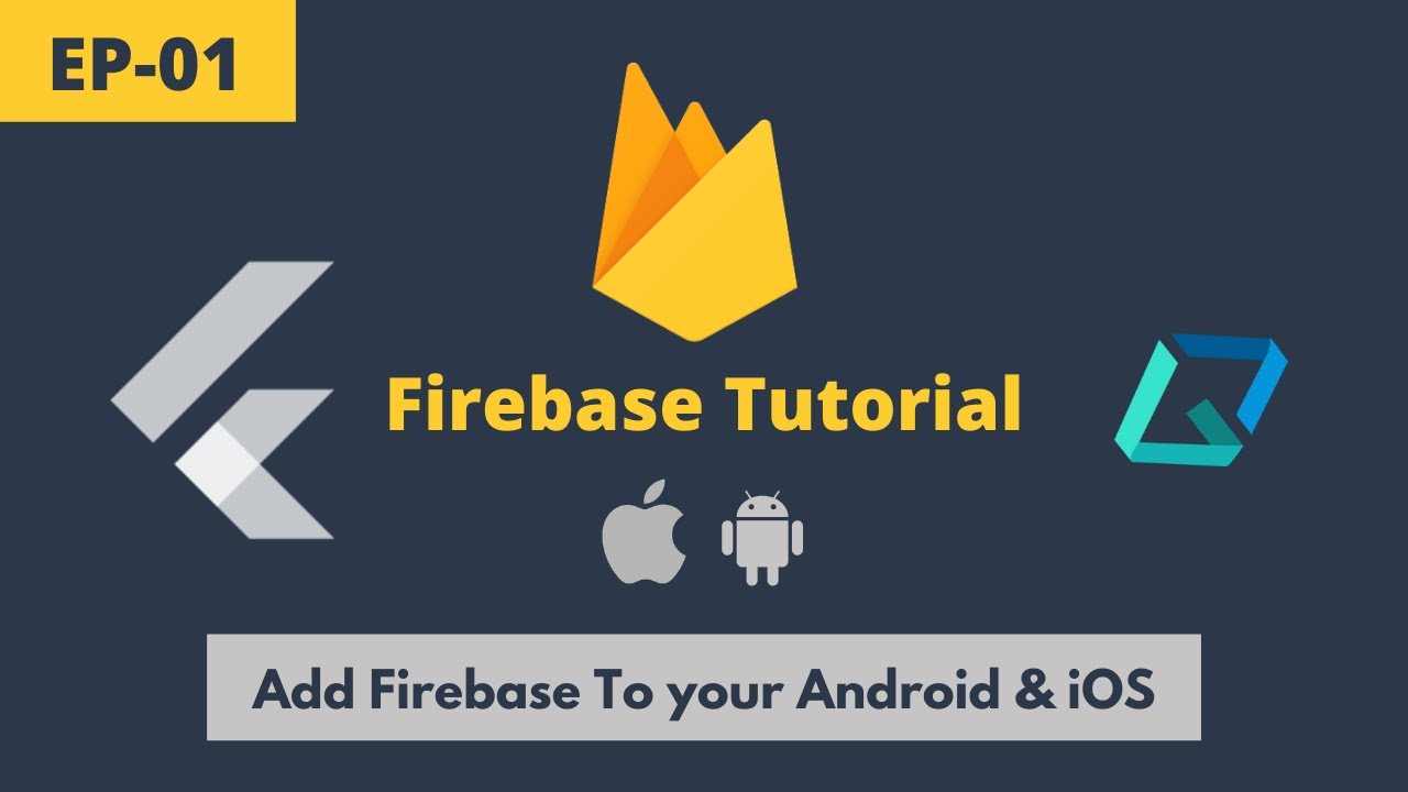 Flutter - The Correct Way to Add Firebase to Flutter (Android & iOS) | Firebase Tutorial