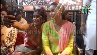 ACTRESS DAISY SHAH WILL BE VISITING LALBAUG CHA RAJA WITH HER FAMILY
