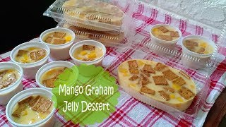 Mango Graham Jelly Dessert | How to make Mango Jelly