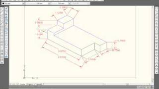 How to draw isometric Drawings in AutoCAD 2010