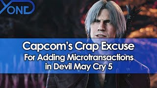 Capcom's Crap Excuse for Adding Microtransactions in Devil May Cry 5