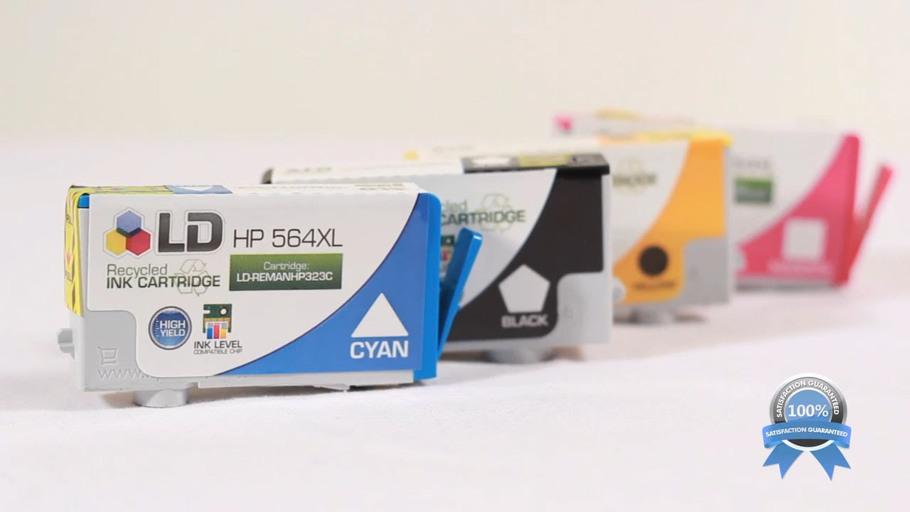 Cost Saving Replacements For Hp 564xl Ink From Ld Products Youtube