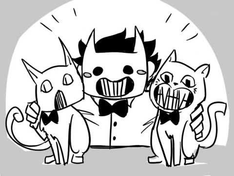 Zacharie loves cats