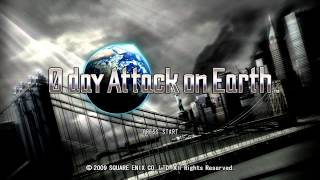 0 Day Attack on Earth Title Screen (Xbox 360)