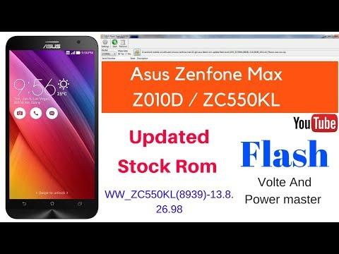 Asus Zenfone Max Flash Stock Rom ZC550KL z010d