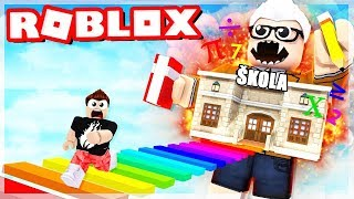 TRY TO GET AWAY FROM SCHOOL!?? (Roblox Adventures)