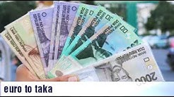 Euro to Bangladeshi taka|euro to taka|euro to bdt|euro to taka rate today | 1 euro to taka