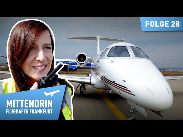 Gewinner in der Corona-Krise - Die Privatjets am Flughafen | Mittendrin - Flughafen Frankfurt (28)